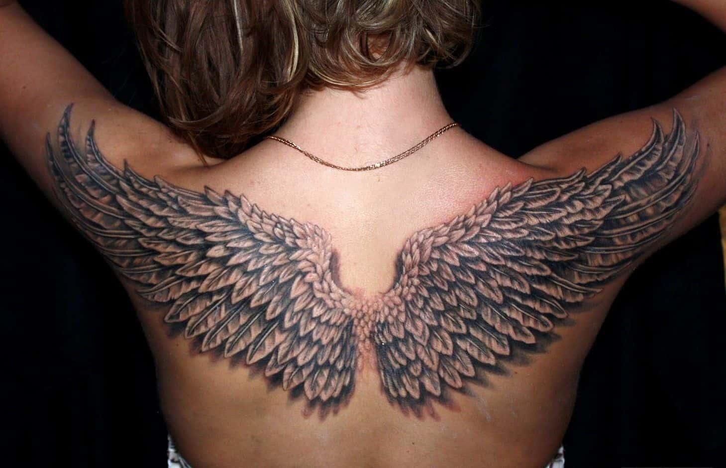 Крылья тату фото картинки