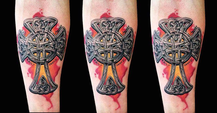 тропинки комбинируют тевтонский крест фото значение тату очень