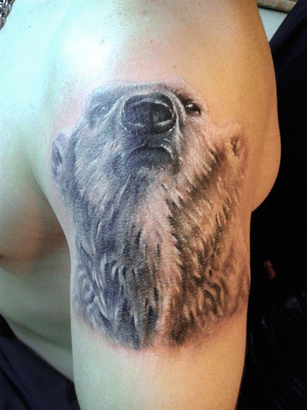 картинки наколки с белым медведем знаете английского